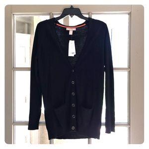 Banana Republic long black sweater